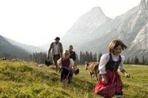 almwanderung-ehrwald_Tiroler Zugspitz ArenaU. Wiesmeier